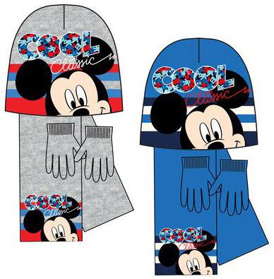 Boutique en ligne 504e4 42faa Conjunto gorro, bufanda y guantes de Mickey Mouse - Regaliz ...