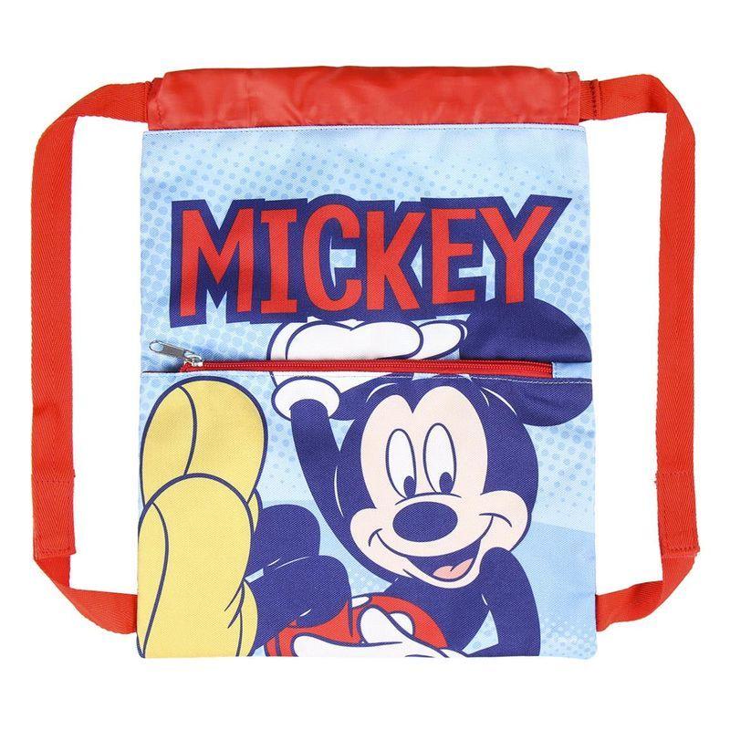 Bolsa Saco Cordones Mochila de Mickey Mouse