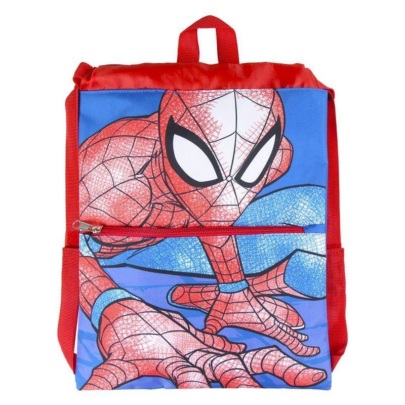 Bolsa Saco Cordones Mochila de Spiderman