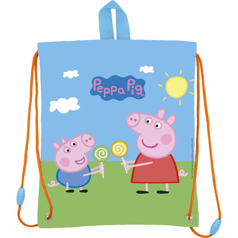 Bolsa merienda de Peppa Pig