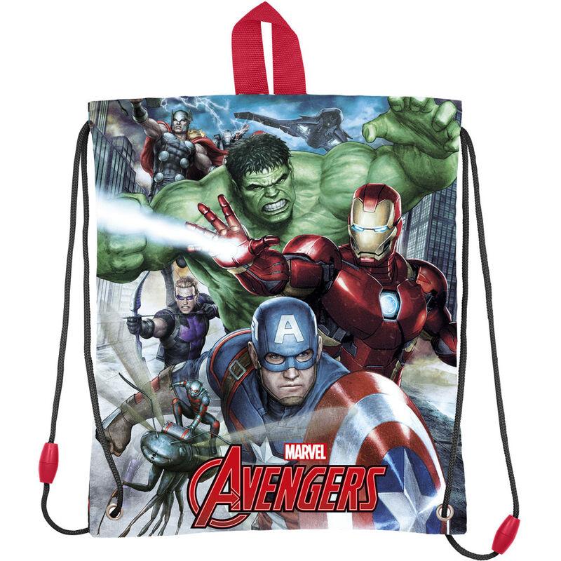 Bolsa merienda de Avengers