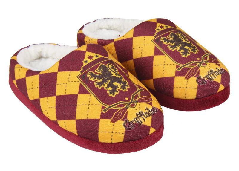 Zapatillas de casa abierta de Harry Potter
