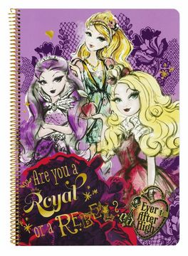 En oferta - Libreta folio tapas duras 80 h. de Ever After High Cameo