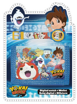 Set reloj de pulsera digital y billetera de Yo-Kai Watch (12/48)