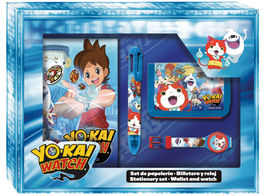 Set papeleria lenticular de Yo-Kai Watch (12/48)