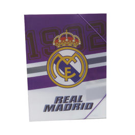 Carpeta polipropileno de Real Madrid (12/96)