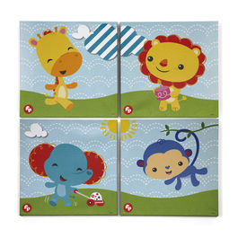 Fisher Price - set of 4 canvas 25x25cm (0/8)