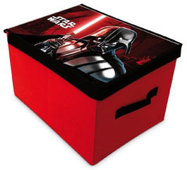 Caja guardajuguetes plegable de Star Wars (1/12)