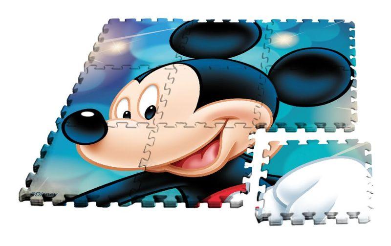 Alfombra puzle eva 90x90cm de Mickey Mouse