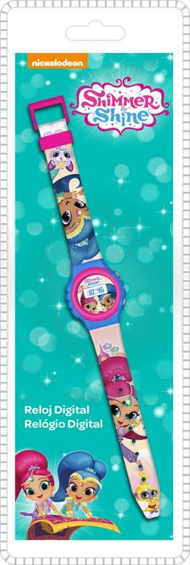Reloj pulsera digital de Shimmer And Shine (st48)