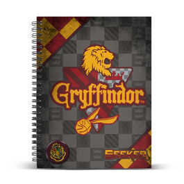Cuaderno DIN A4 de Harry Potter 'Quidditch Gry' (st15)
