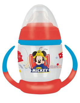 Taza entrenamiento 270ml con boquilla de silicona de Mickey Mouse 'To The Rescue' (12/72)