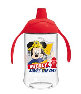 Vaso entrenamiento toddler easy curvado 440ml de Mickey Mouse 'To The Rescue' (12/72)