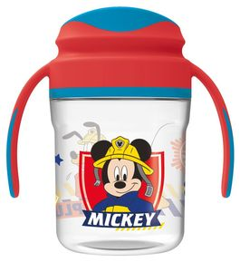 Taza entrenamiento toddler premium 260ml de Mickey Mouse 'To The Rescue' (12/72)
