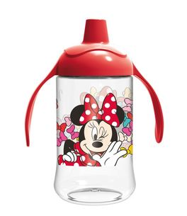 Vaso entrenamiento toddler easy curvado 440ml de Minnie Mouse 'Color Bows' (12/72)