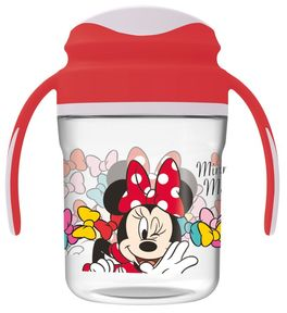 Taza entrenamiento toddler premium 260ml de Minnie Mouse 'Color Bows' (12/72)