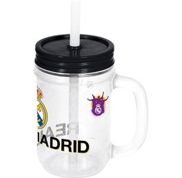 Jarro con pajita 420ml de Real Madrid  (12/24)