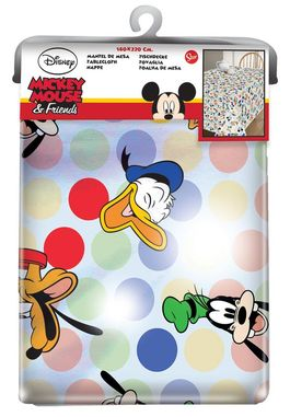 Mantel hule 1,40x1,40m de Mickey Mouse 'Friends One And Only' (0/24)