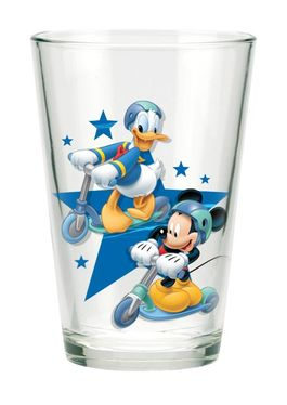 Set 3 vasos cristal 23,7cl de Mickey (1/24)
