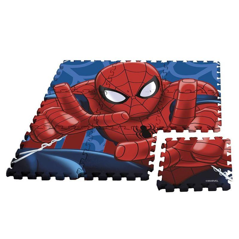 Alfombra puzle eva 90x90cm de Spiderman