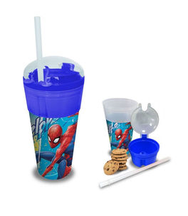 Vaso 2 en 1 de Spiderman (st24)