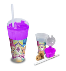 Vaso 2 en 1 de Shimmer And Shine (st24)