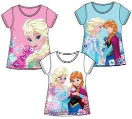 Camiseta full print de Frozen