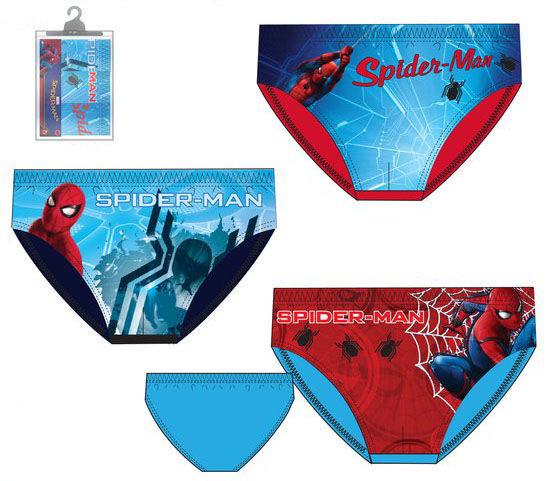 Pack 3 calzoncillos slips full print de Spiderman - Regaliz ... c1f366f952e