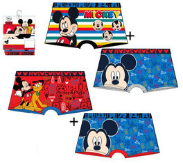 Pack 2 calzoncillos boxer full print de Mickey Mouse