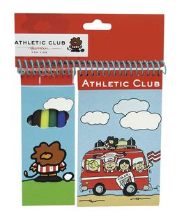 Set de 6 rotuladores con bloc de Athletic Club Bilbao (12/96)
