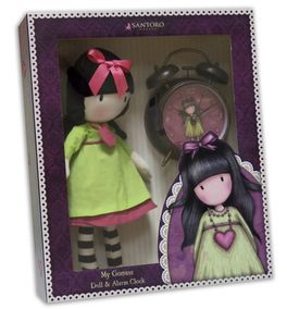 Set de regalo muñeca y despertador de Gorjuss 'Heartfelt' (2/6)