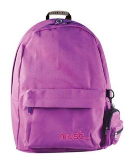 Mochila con monedero purple