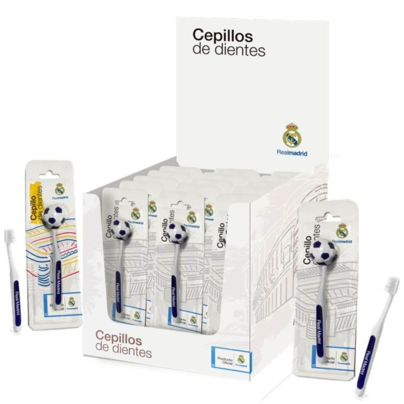 Cepillo de dientes de Real Madrid - Regaliz Distribuciones English 5368c119f7c8
