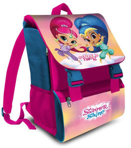 Mochila italiana grande 41cm de Shimmer And Shine (st12)