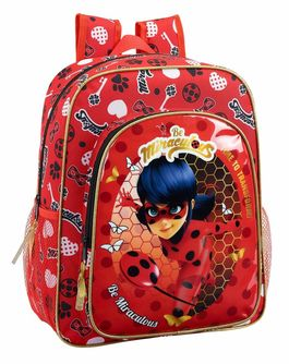 Mochila grande 38cm adaptable a carro de Lady Bug 'Sparkle'