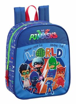Mochila pequeña 27cm adaptable a carro de Pjmasks 'World'