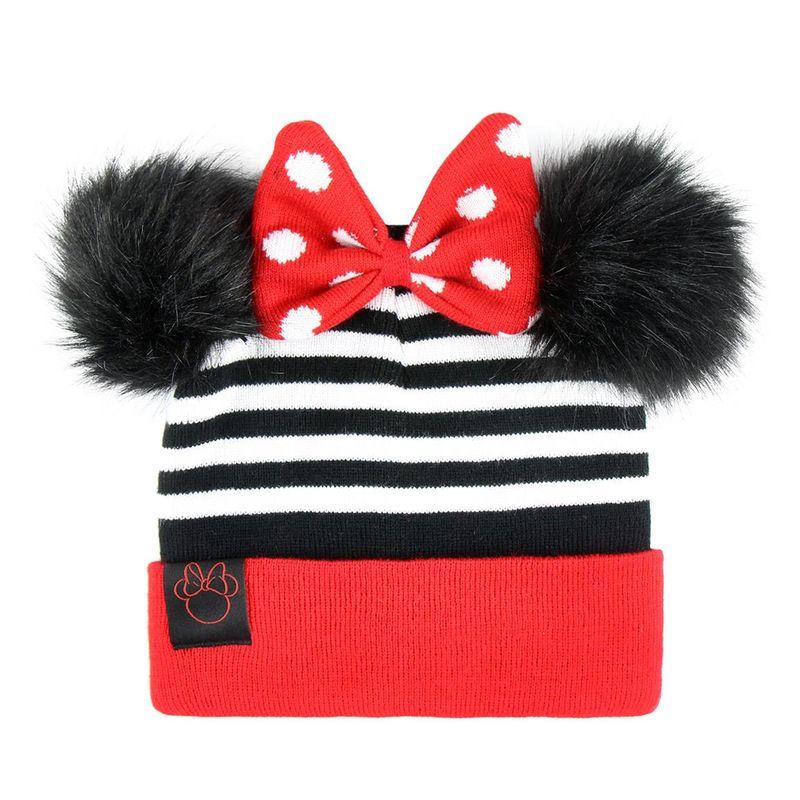 Gorro pompon de Minnie Mouse (2 24) - Regaliz Distribuciones English bfc75d23ac2