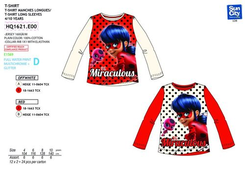 Camiseta de Lady Bug
