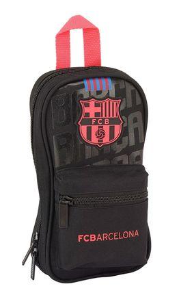 b50fadd74 nuevo Plumier mochila con 4 portatodos vacios de FC Barcelona 'Black'