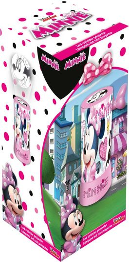 Proyector led cilindrico de Minnie Mouse (st12)