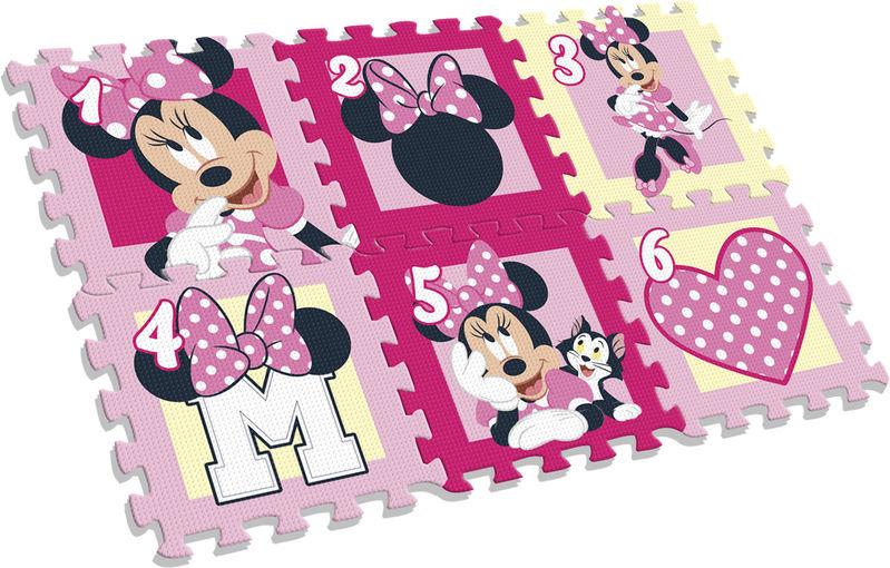 Alfombra puzle eva 6 piezas de Minnie