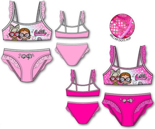 Bañador bikini de Lol Surprise