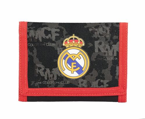 Billetera con cabecera de Real Madrid 'Black'