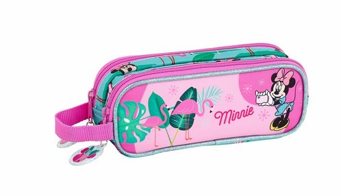 Estuche portatodo doble de Minnie Mouse 'Palms'